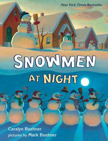 Snowmen at Night Lap Board Book