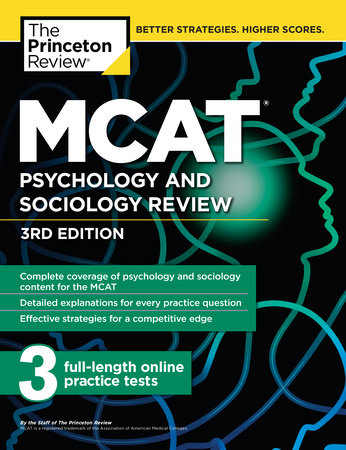 MCAT Psychology and Sociology Review, 3rd Edition | Penguin Random
