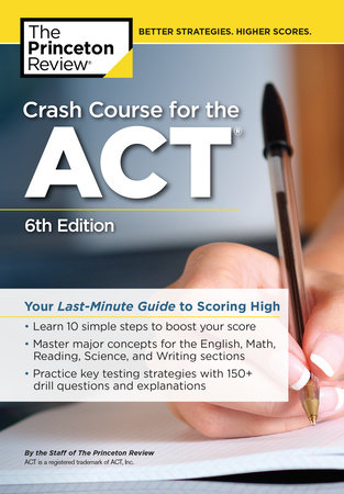 Crash Course for the ACT, 6th Edition