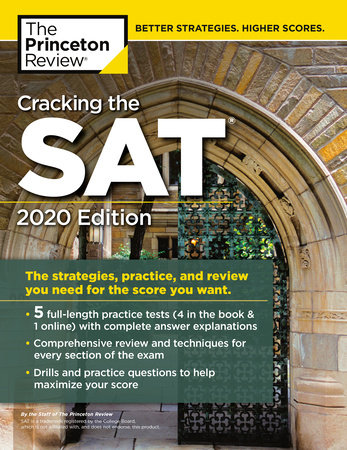 Cracking the SAT with 5 Practice Tests, 2020 Edition