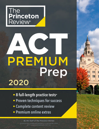 Princeton Review ACT Premium Prep, 2020