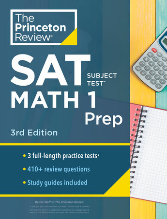 Princeton Review SAT Subject Test Math 1 Prep, 3rd Edition