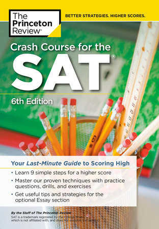 Crash Course for the SAT, 6th Edition