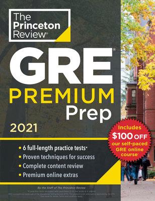 Princeton Review GRE Premium Prep, 2021