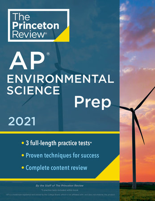Princeton Review AP Environmental Science Prep, 2021