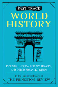 Book cover for Fast Track: World History