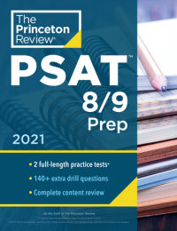 Book cover for Princeton Review PSAT 8/9 Prep