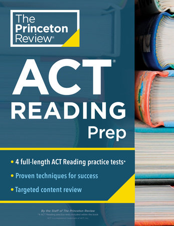 Princeton Review ACT Reading Prep