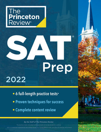 Princeton Review SAT Prep, 2022