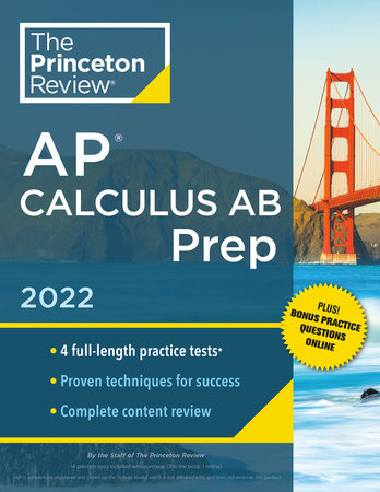 Princeton Review AP Calculus AB Prep, 2022