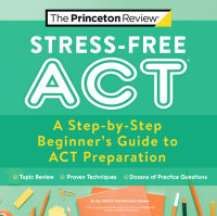 Cover of Stress-Free ACT cover