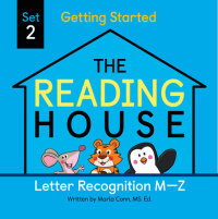 Book cover for The Reading House Set 2: Letter Recognition M-Z