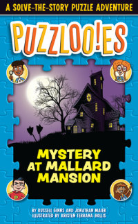 Book cover for Puzzlooies! Mystery at Mallard Mansion