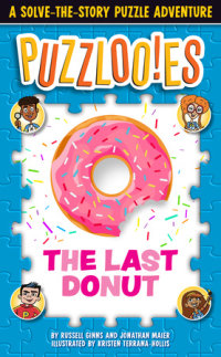 Book cover for Puzzlooies! The Last Donut