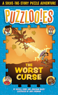 Book cover for Puzzlooies! The Worst Curse