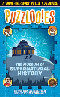 Book cover for Puzzlooies! The Museum of Supernatural History