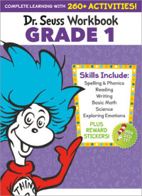 Book cover for Dr. Seuss Workbook: Grade 1