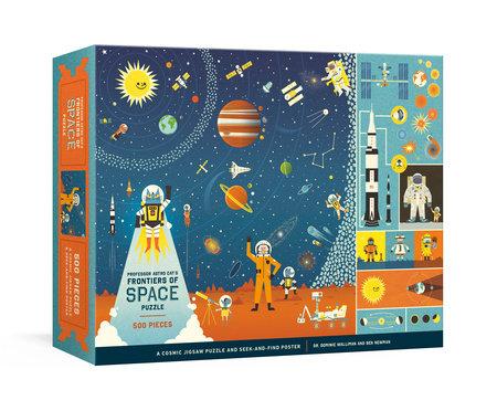 Professor Astro Cat's Frontiers of Space 500-Piece Puzzle