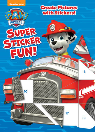 PAW Patrol Super Sticker Fun! (Paw Patrol)