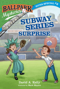 Book cover for Ballpark Mysteries Super Special #3: Subway Series Surprise