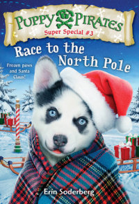 Book cover for Puppy Pirates Super Special #3: Race to the North Pole