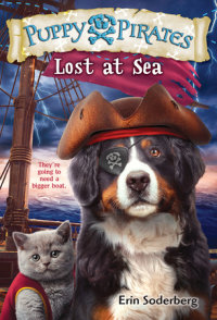Book cover for Puppy Pirates #7: Lost at Sea