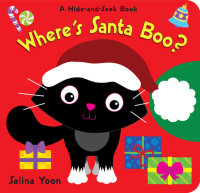 Book cover for Where\'s Santa Boo?