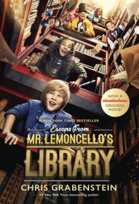 Book cover for Escape from Mr. Lemoncello\'s Library Movie Tie-In Edition