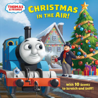 Book cover for Christmas in the Air! (Thomas & Friends)