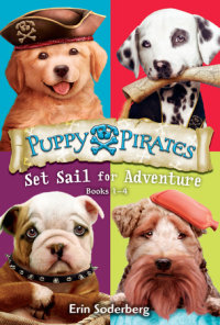 Book cover for Puppy Pirates: Set Sail for Adventure (Books 1-4)