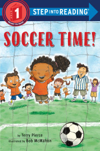 Book cover for Soccer Time!