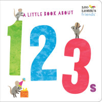 Book cover for A Little Book About 123s (Leo Lionni\'s Friends)