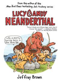 Cover of Lucy & Andy Neanderthal