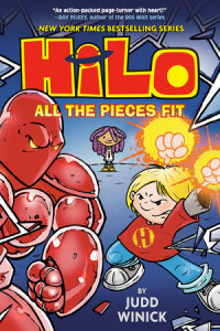 Book cover for Hilo Book 6: All the Pieces Fit