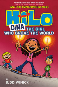 Cover of Hilo Book 7: Gina---The Girl Who Broke the World cover