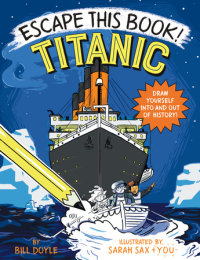 Book cover for Escape This Book! Titanic