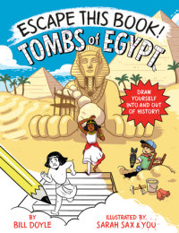 Book cover for Escape This Book! Tombs of Egypt