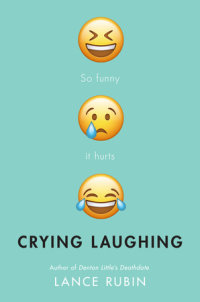 Book cover for Crying Laughing