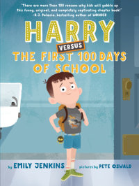 Cover of Harry Versus the First 100 Days of School cover