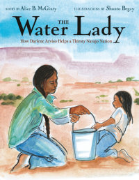 Book cover for The Water Lady