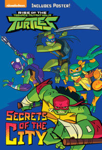 Book cover for Secrets of the City (Rise of the Teenage Mutant Ninja Turtles #2)