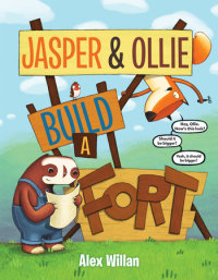 Cover of Jasper & Ollie Build a Fort cover
