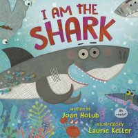 Book cover for I Am the Shark
