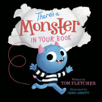 Cover of There\'s a Monster in Your Book cover