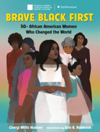 Cover of Brave. Black. First. cover