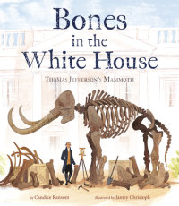Book cover for Bones in the White House