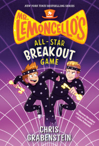 Book cover for Mr. Lemoncello\'s All-Star Breakout Game