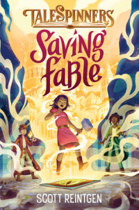 Book cover for Saving Fable