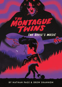 Cover of The Montague Twins #2: The Devil\'s Music cover