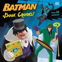 Book cover for Book Crooks! (DC Super Heroes: Batman)